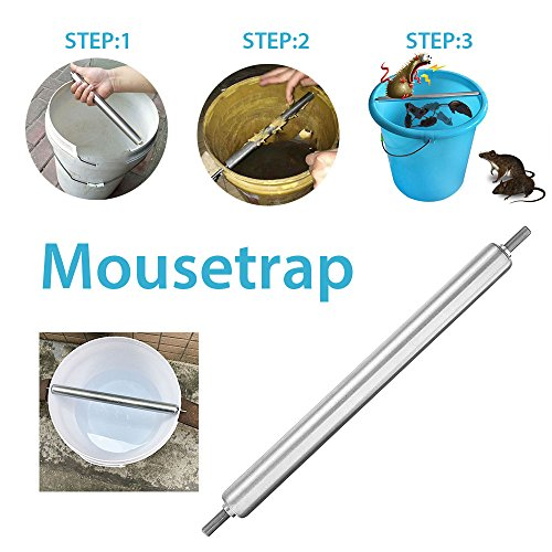 MingXiao Automatische Maus Roller Mäuse Repellent Kill Legierungsstahl Farbe Durable Nicht Gift