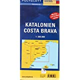 Polyglott Reisekarten, Katalonien, Costa Brava