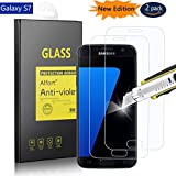 2× Verre Trempé Samsung Galaxy S7, Alfort Film de Protection d'écran en...