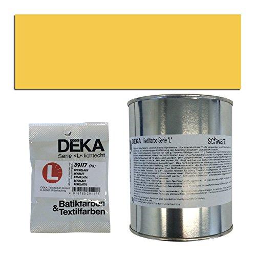 Preisvergleich Produktbild NEU DEKA-Textilfarbe Serie L, 500g, Gelb