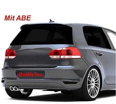 Bowatex Cartrend 152x 76et 250x 50cm Protection solaire Noir profond Film teinté vitres de voiture tuning