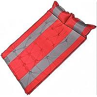 Oaghl automatico gonfiabile cuscini/umidità/campeggio/tende/matrimoniale//pausa pranzo, red spell, 190*132*3