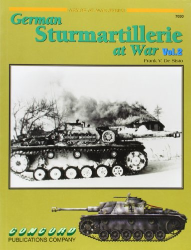 7030: German Sturmartillerie at War V 2: Vol 2 (Armor at War) por Thomas Anderson