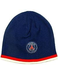 PSG - Bonnet PSG Officiel - Couleur : Bleu