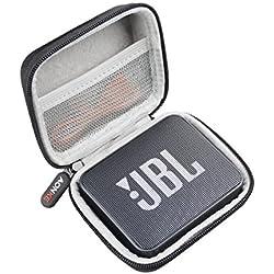 Voyage Stockage Porter Étui Housse pour JBL JBLGO2BLK Enceinte Portable Bluetooth by AONKE