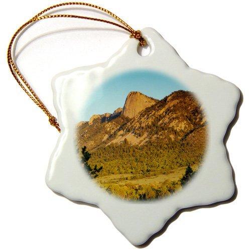 oll Porzellan Ornament Schneeflocke Deko-Hänger, Zahn der Zeit, Philmont Scout Ranch, Cimarron, New Mexico. ()