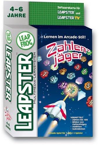 Preisvergleich Produktbild Unbekannt LeapFrog 42287046 - Leapster Software: Arcade-Game Zahlenjäger