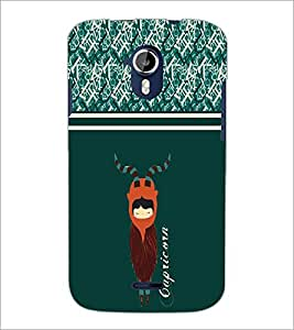 PrintDhaba Zodoac Capricorn D-2744 Back Case Cover for MICROMAX A116 CANVAS HD (Multi-Coloured)