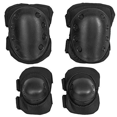 KT 4X Protecciones de rodilleras coderas para moto ciclismo montañismo militares táticos...