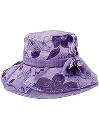 Cappello Da Marinaio Da Donna Protezione Solare Da Viaggio Ampio Cappello  Estiv 699a3792f68a