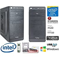 PC DESKTOP COMPLETO CORE INTEL i3-4130 3,4Ghz SCHEDA ASROCK H81M