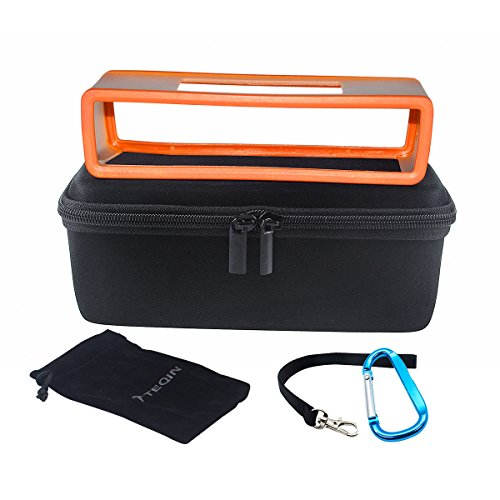 teqin-eva-hart-bose-hulle-reise-aufbewahrung-schutz-box-tasche-mit-rucksack-hangende-schnalle-orange