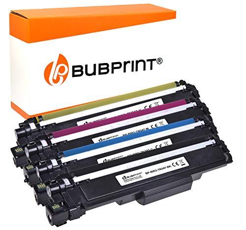 Bubprint 4 XL Toner kompatibel für TN-243 TN-247 TN-247 Brother DCP-L 3550 CDW HL-L3210CW HL-L3230CDW HL-L 3270 MFC-L 3710 CW MFC-L3730CDN MFC-L 3770 -
