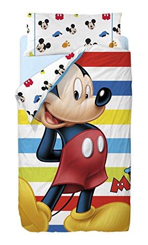 Disney Mickey Colors - Saco nórdico de 2 Piezas para Cama de 90 cm