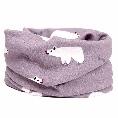 Cute invierno bebe niños niñas niños caliente Gorras sombreros de lana  bufanda capucha Hood (B) · Niños-niños-niñas-algodón-multi-uso-cuello -calentador- 897364c9050