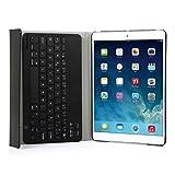 CoastCloud Cubierta protectora del Teclado Inalámbrico párrafo de Apple ipad Air 2 o ipad 6 nuevo ipad caja de cuero de la PU Con La disposición española del Teclado inalámbrico con Bluetooth