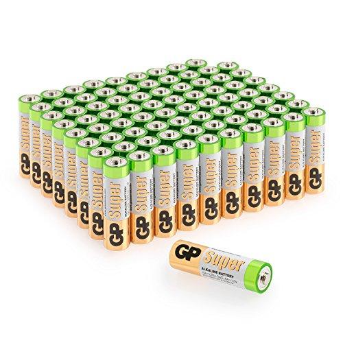 Batterien AA Mignon Super Alkaline Vorratspack 80 Stück GP Batteries