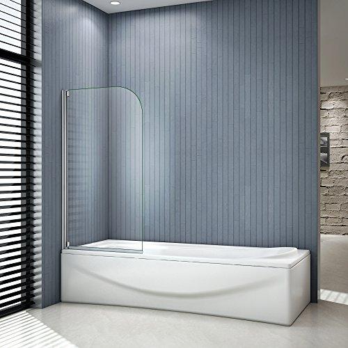 Cabine doccia Sopravasca Parete Da Vasca Apribile 180 Gradi 80x140 1 Ante