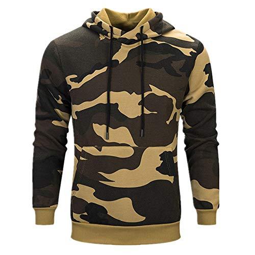 Discount boutique felpa con cappuccio da uomo a maniche lunghe con cappuccio mimetico felpa con cappuccio giacca slim fit giacca giacca esterna con tasche