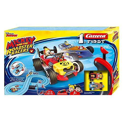 Carrera- 1. First Circuito de Coches Mickey and The Roadster Racers de 2.4 m, Escala 1:50, (20063029)