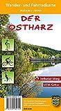 Der Ostharz: Wander- und Fahrradkarte
