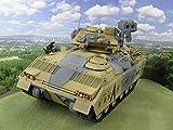 U.S. M2 Bradley Panzer Die-Cast Fertigmodell 1:18 Operation Desert Storm