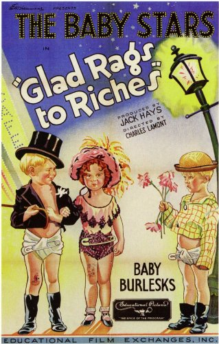 glad-rags-to-riches-poster-11-x-17-inches-28cm-x-44cm-1933-style-a