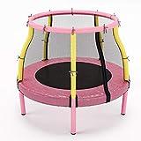 Trampoline für Kleinkinder im Alter von 2-5 für drinnen - Mädchen Jungen Geburtstagsgeschenk, springende Tabelle mit Einschli