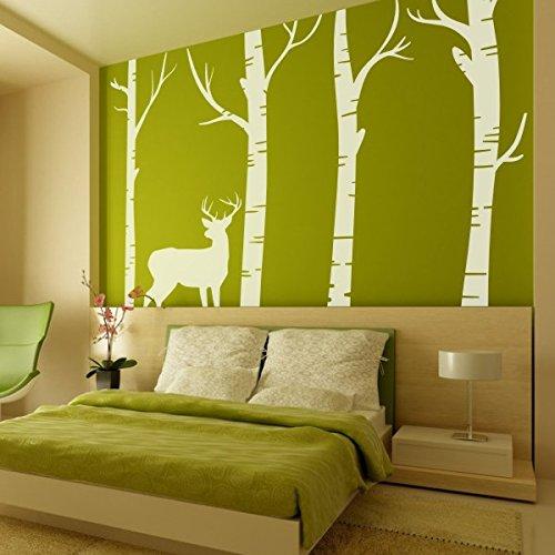 camera-alberi-di-betulla-foresta-con-cervo-in-vinile-adesivo-parete-soggiorno-decorazione-artistica-