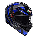 AGV Casco integrale K-5 S MULTI PLK Hurricane 2.0 ML Nero/Blu