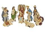 Weihnachtsfiguren Krippenfiguren 10cm Weihnachtskrippe Figuren