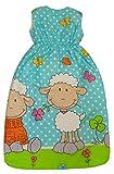 Bomio Baby Winter-Schlafsack, Öko-Tex Standard 100, (Schäfchen (Türkis), 70 cm (0-6 Monate)) - 3