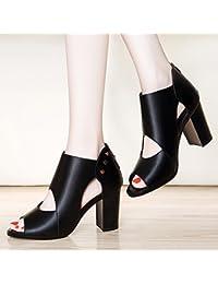 GTVERNH-summer signore i sandali super tacchi i tacchi impermeabilizzare pizzi e a bocca di pesce scarpe 39…