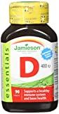 Jamieson, Integratore alimentare di Vitamina D, 90 compresse