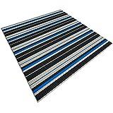 Design Bodenschutzmatte Ravenna in 6 Größen | dekorative Unterlegmatte für Bürostühle oder Sportgeräte (150 x 90 cm)