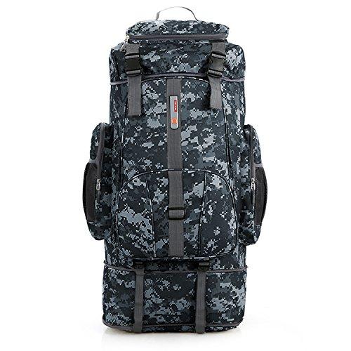 Spaher 80l+20l zaino da trekking montagna escursionismo campeggio montagna viaggio esercito militare tattico alpinismo borsa a tracolla daypack bagagli outdoor sport all'aria aperta arrampicata 100l
