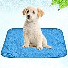 su-luoyu Alfombra de Enfriamiento para Mascotas Práctica y Plegable Manta Refrescante Alfombrilla de Refrigeración