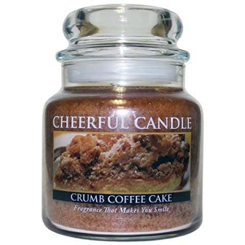 A Cheerful Giver Crumb Coffee Cake Jar Candle, 16-Ounce by A Cheerful Giver