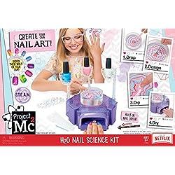 Project Mc2 H2O Nail Science Kit - juguetes y kits de ciencia para niños (8 año(s), Chica, Multicolor, CE, AA, 2654 pieza(s))