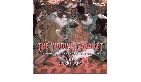 The Yiddish Cabaret von Jerusalem Quartet & Hila Baggio bei Amazon ...