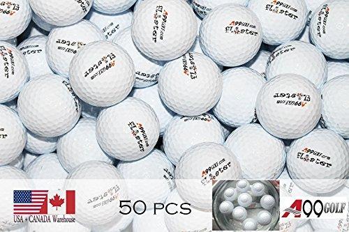 Lot de 50balles de golf Floater flottant Practise Aid (avec logo)