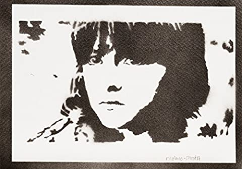Bran Stark Le Trône De Fer (Game Of Thrones) Handmade Street Art - Artwork - Poster