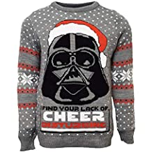 Rubberroad Darth Vader Xmas Pullover S - Not Machine Specific