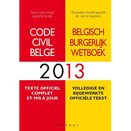 Code civil belge 2013
