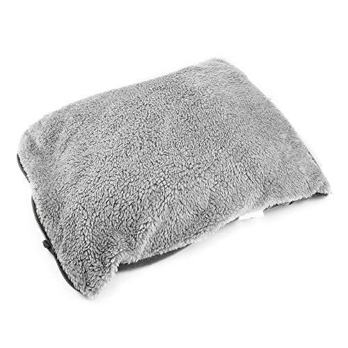 Einfaches design usb lade winter handwärmer praktische komfortable weiche elektrische heizung warme pads kissen beste geschenk - grau -