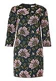 HALLHUBER A-Linien Kleid aus Blumen-Jacquard A-Linie Multicolor, 40