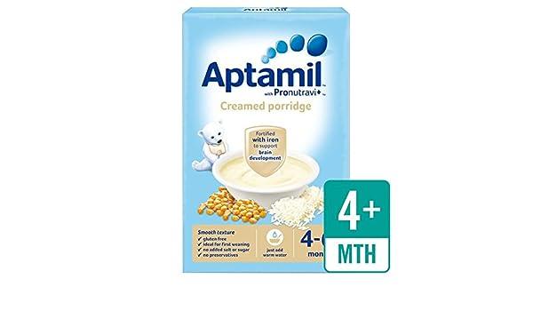 mois 125 g Aptamil Creamed Porridge 4-6