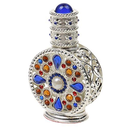 Botellas de Perfume Pulverización Cristal Comestic Establecen Cobrizo