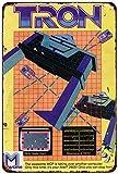 qidushop Atari 2600 Tron Videospiel-Anzeige, Vintage-Reproduktion, Metall-Blechschilder für...