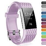 Bepack Fitbit Charge 2 Bracelet Sport, Band pour Montre Futée, Remplacement de...